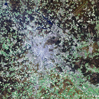 Satellite image of Moscow and its suburbs Moscow satellite image.jpeg