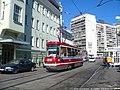Moscow tram LT-5 1001 20050825 107 (12192210173).jpg