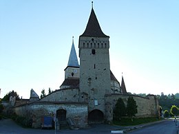 Mosna Fortified Church - main entrance.jpg