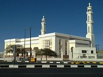 Khamis Mushait - Image: Mosque in Khamis Mushayt