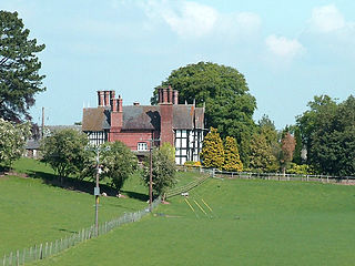 Moss Hall, Audlem Grade I listed English country house in Audlem, Cheshire, UK