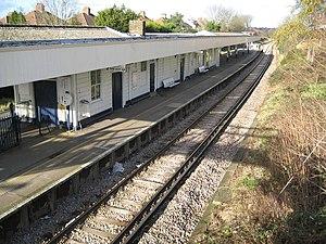 Motspur Park railway station - Image: Motspur Park Station