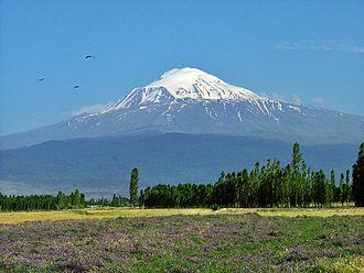 Zilan massacre - Mount Ararat from Iğdır.
