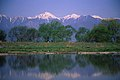Mount Jonen and Mount Yokotoshi from the Azusa River.jpg