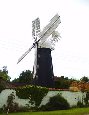 North Lincolnshire - Image: Mount Pleasant Mill, Kirton in Lindsey