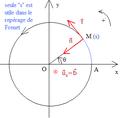 Mouvement circulaire - repérage de Frenet.png