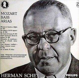 Hermann Schey Dutch bass-baritone