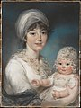 Mrs. Robert Shurlock (Henrietta Ann Jane Russell, 1775–1849) and Her Daughter Ann MET DP161649.jpg