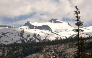 Mount Lyell (California) - Mount Lyell, June 2005