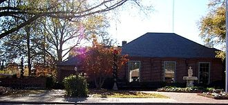Mountain Brook, Alabama - Old City Hall, photographed in 2006
