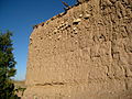 Mud brick wall, Afghanistan.jpg