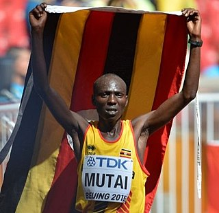 Solomon Mutai Ugandan long-distance runner