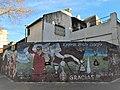 Mural en homenaje a Claudio Borghi, en la esquina de Gavilán y San Blas, frente al estadio de Argentinos Juniors..jpg