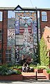 Mural on a wall in Merlyn Rees Street - geograph.org.uk - 452443.jpg