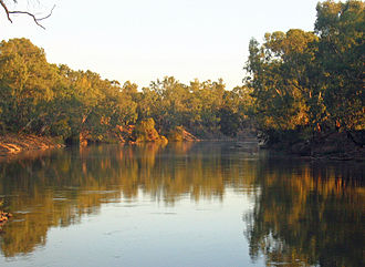 Riverina - The Murrumbidgee River at Wagga Wagga