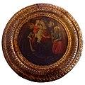 Museo del Bigallo, Iacopo del Sellaio, madonna con bambino due angeli e san pietro martire e tobia.JPG