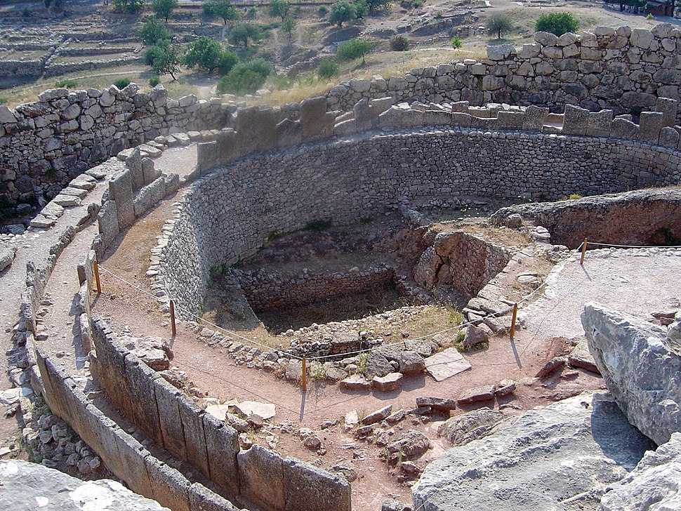 Mycenae ruins dsc06388