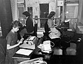 Nők gépelnek az irodában, 1959. Fortepan 7674.jpg