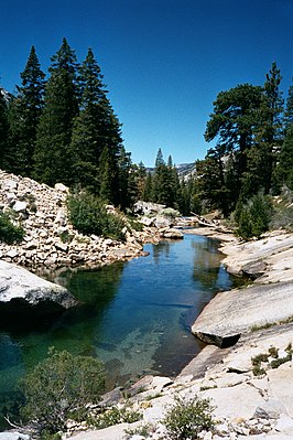 Merced-rivier in Yosemite National Park