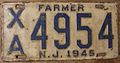 NEW JERSEY 1945 -FARM TRUCK LICENSE PLATE - Flickr - woody1778a.jpg