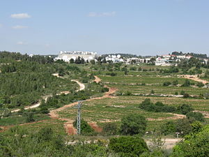 Jerusalem corridor - Neve Ilan television studios in the Jerusalem corridor