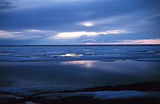 Frühling in der Beaufortsee