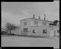 NORTH FRONT, NORTHWEST CORNER - Torpedo Storehouse, Second and Dowell Streets, Keyport, Kitsap County, WA HABS WA-256-2.tif