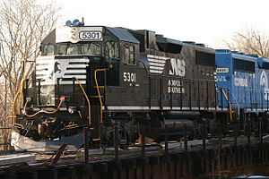 Altoona Works BP4 - Image: NS GP38 2 5301