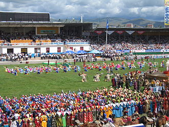 Culture of Mongolia - A Naadam Festival in Ulaanbaatar