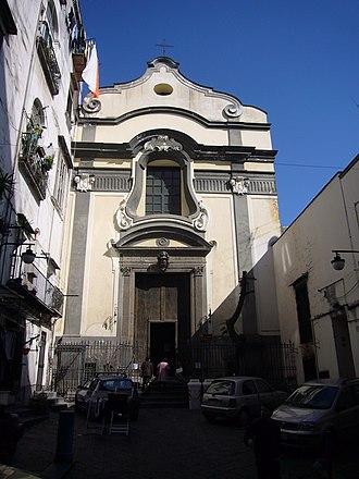 Sant'Anna di Palazzo - Image: Napoli s Anna di Palazzo facciata 1060630
