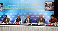 "Narendra Singh Tomar at the inauguration of a CII conference on ""Encouraging exploration in India Charting the course for better mineral finds"", in New Delhi. The Secretary, Ministry of Mines.jpg"