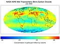 Nasa AIRS CO2 July03.jpg
