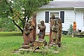 Nativity Scene Chainsaw Carving, 5446 Merritt Road, Ypsilanti Township, Michigan - panoramio.jpg