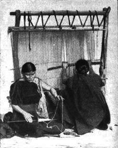 Navaho spinning and weaving page 928