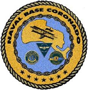 Naval Base Coronado - Image: Naval Base Coronado (emblem)