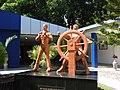 Naval statue-1-samudrika museum-andaman-India.jpg