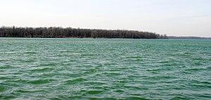 Navy Island - Navy Island from Buckhorn Island State Park in 2012