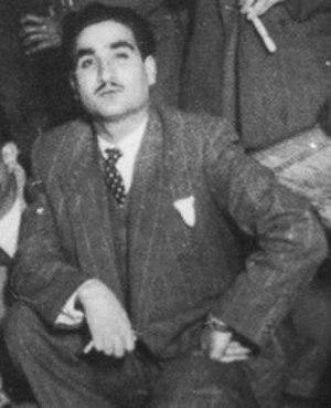 Nazem al-Ghazali - Nazem al-Ghazali in 1946/47