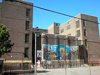 George W. Nebinger School - George W. Nebinger School, May 2010