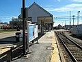 Needham Heights station shelter facing south, March 2016.JPG
