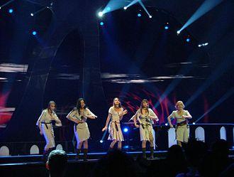 Tii (song) - Image: Neiokõsõ Estonia 2004