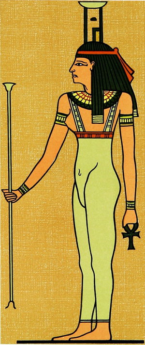 English: picture of the goddess Nephthys