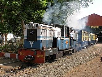 Matheran Hill Railway - Image: Neral Departure