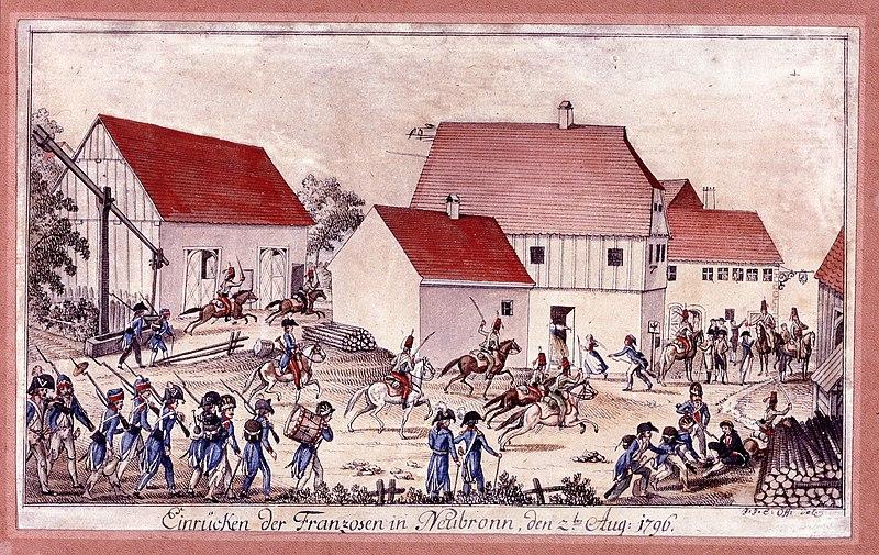File:Neubronn Einrücken der Franzosen 1796.jpg