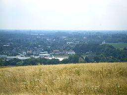 Blick auf den Stadtteil Neukirchen von der Halde Norddeutschland