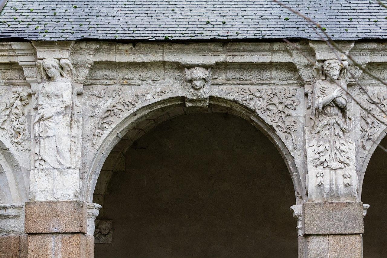 file neuvi me arcade de la galerie ouest du clo tre de l 39 ancienne abbaye saint melaine rennes. Black Bedroom Furniture Sets. Home Design Ideas
