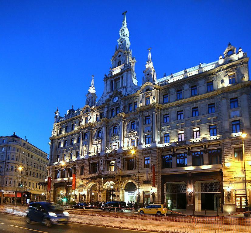 New York palace et son café à Budapest - Photo de Thaler Tamas