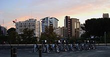Photo of bike-in-action bicycles at Solomou Square in Nicosia