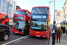 Lignes de bus 35 et 59 de Londres