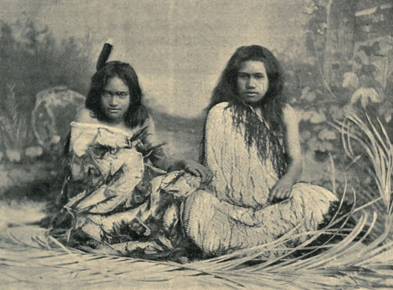 image Maori new zealand girl part 2
